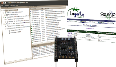 panStamp, compatible with Lagarto and SWAPdmt