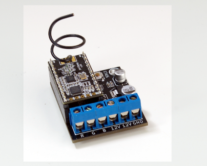 RGB driver board with panStamp