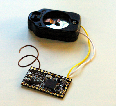 Cheap wireless temperature sensor with panStamp