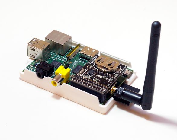 panStamp shield on Raspberry